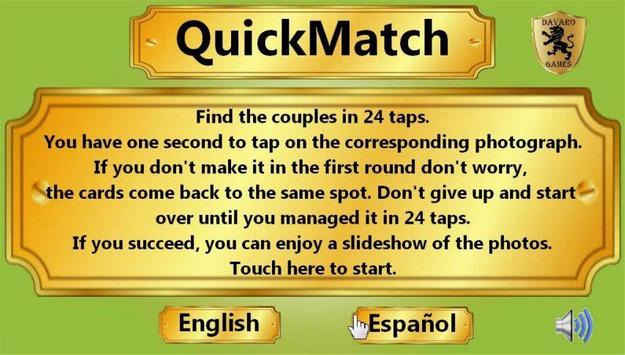 QuickMatch poster
