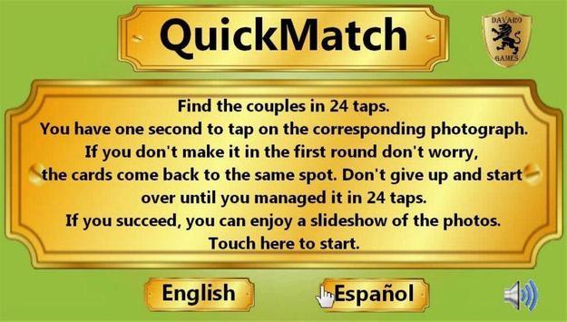 QuickMatch apk screenshot