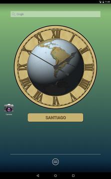 Earth Clock Wallpaper Demo apk screenshot