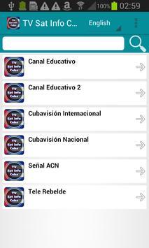 TV Sat Info Cuba poster