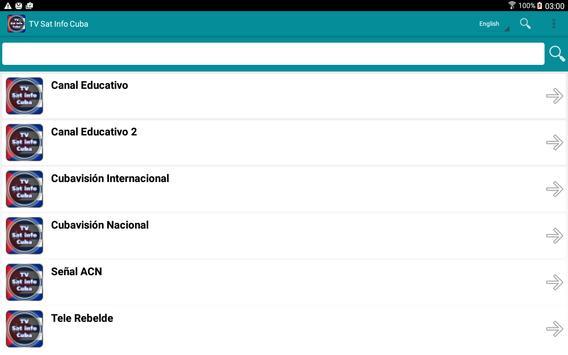 TV Sat Info Cuba apk screenshot