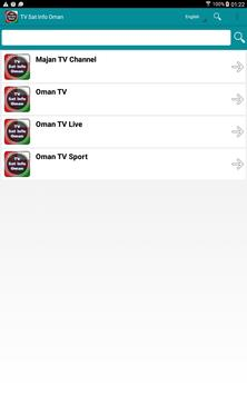 TV Sat Info Oman apk screenshot