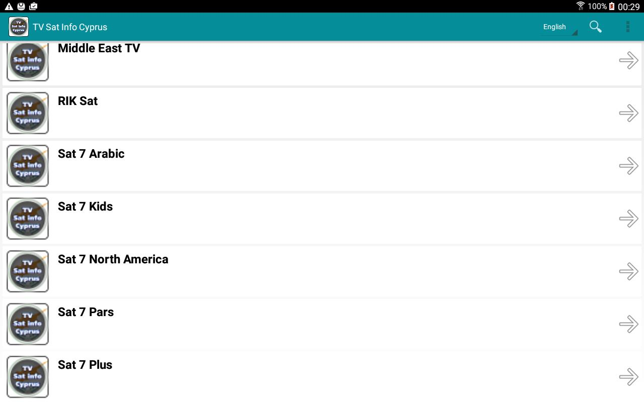TV Sat Info Cyprus for Android - APK Download