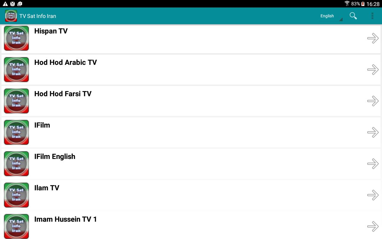 TV Sat Info Iran for Android - APK Download