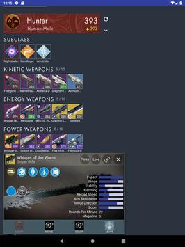 Dashboard for Destiny 2 screenshot 14