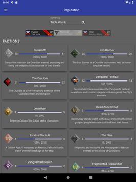 Dashboard for Destiny 2 screenshot 18