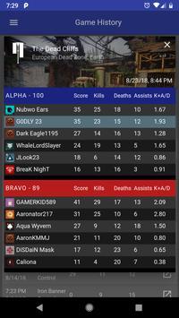 Dashboard for Destiny 2 screenshot 1