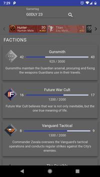 Dashboard for Destiny 2 screenshot 5