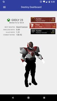 Dashboard for Destiny 2 screenshot 7