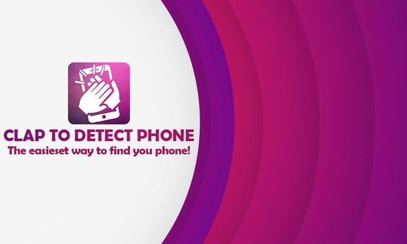 Clap To Detect Phone poster