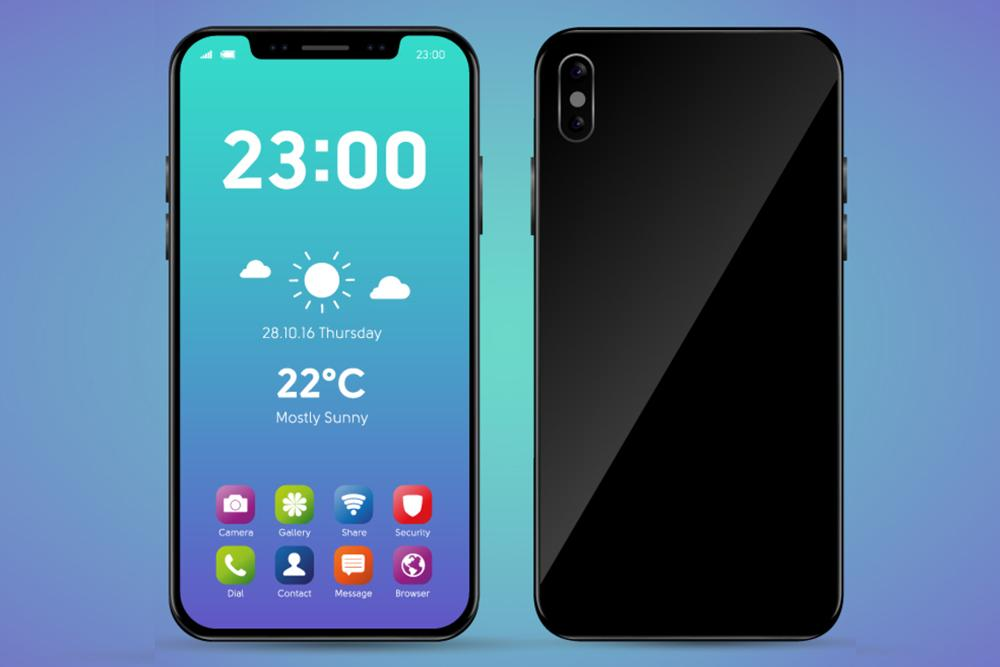 Theme for IPhone x : Launcher Skin Apple HD ios 11 for