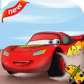 Mcqueen Car Coloring Book icon