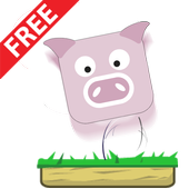 Pig Jump Game: Free icon