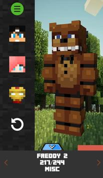 Custom Skin Creator Minecraft APK Download Free Entertainment APP - Skin para minecraft pe de freddy