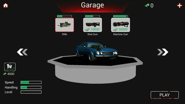 Zombie Road Killer screenshot 1