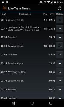 Live Train Times screenshot 1