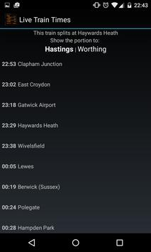 Live Train Times screenshot 2