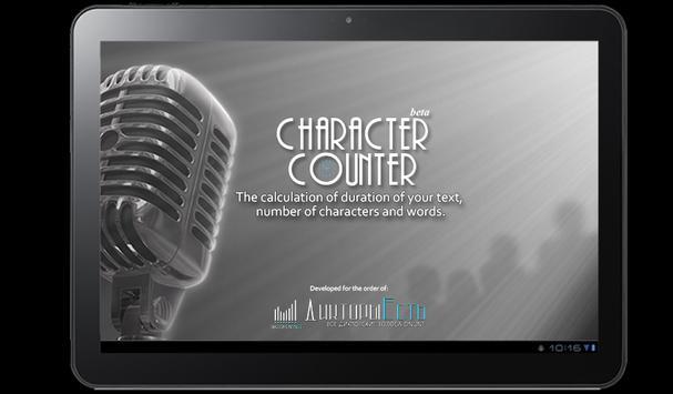 Character counter screenshot 6