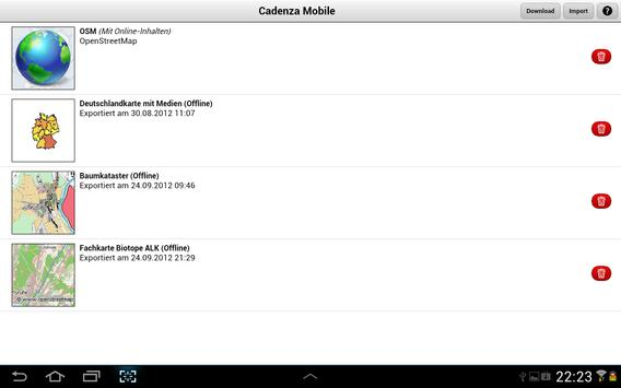 Cadenza Mobile screenshot 1