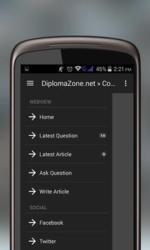 DiplomaZone.net apk screenshot