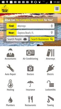 The Complete Phone Book screenshot 1