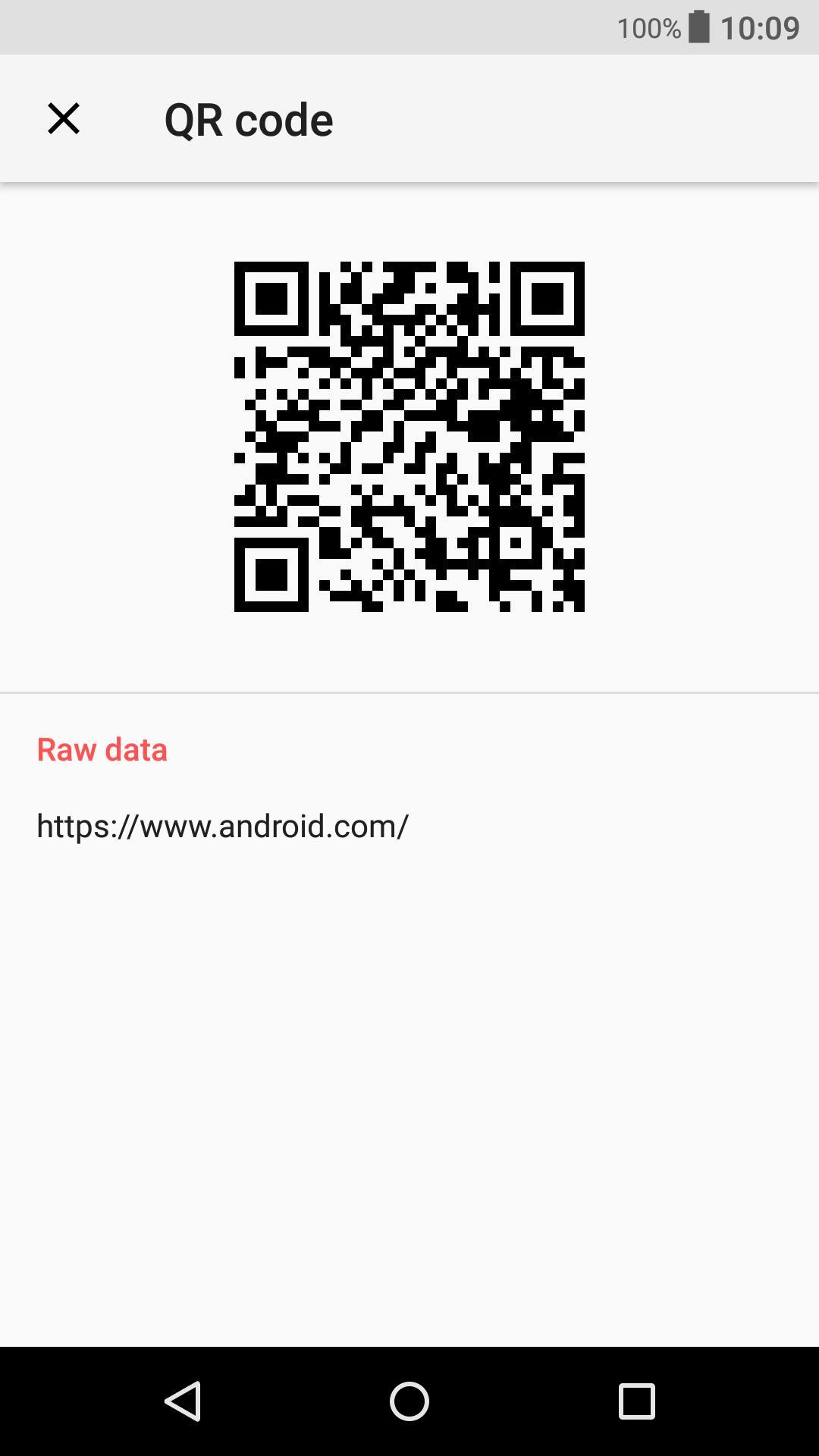 Qr Code Raw Data Reader