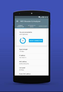WiFi Booster & Analyzer 2017 screenshot 1