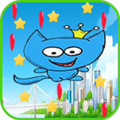 Doremon Cat Fly Game icon