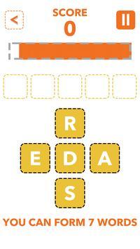 5 Letters - Brain Game screenshot 1