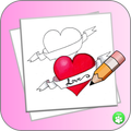 How To Draw A Heart StepByStep