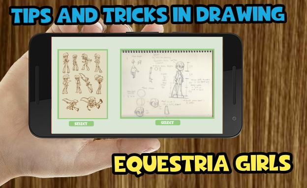 Guide for Drawing Equestria Girl poster