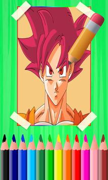 How To Draw Son Goku & Vegeta From DBZ characters poster