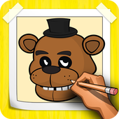 How To Draw FNAF Step By Step icon