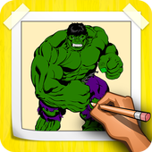 How To Draw Hulk Step By Step icon