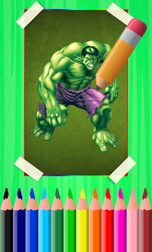 How To Draw Hulk Step By Step poster