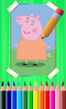 How To Draw Peppa Pig Step By Step screenshot 1