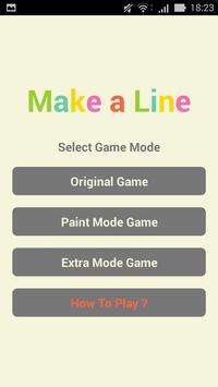 Make a Line poster