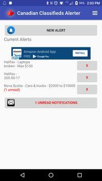 Canadian Classifieds Alerter Ekran Görüntüsü 6