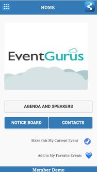 Event Buddy Lite screenshot 1