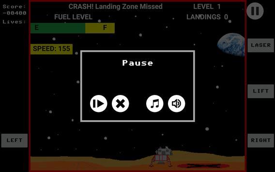 Space Lander screenshot 3