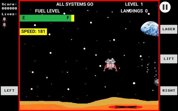 Space Lander poster