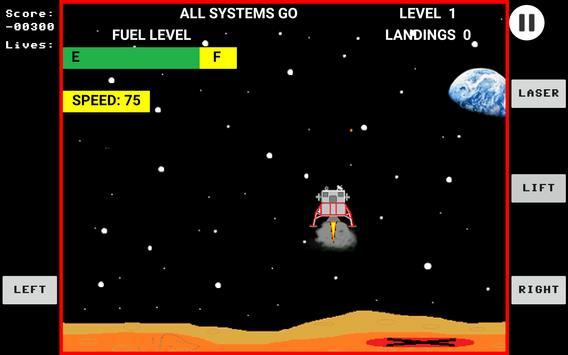 Space Lander screenshot 2