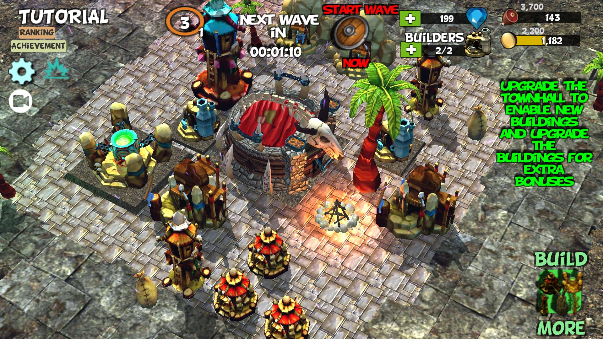 Anti Clash ⛺️ Tower Defense Offline Orc Clans War for Android