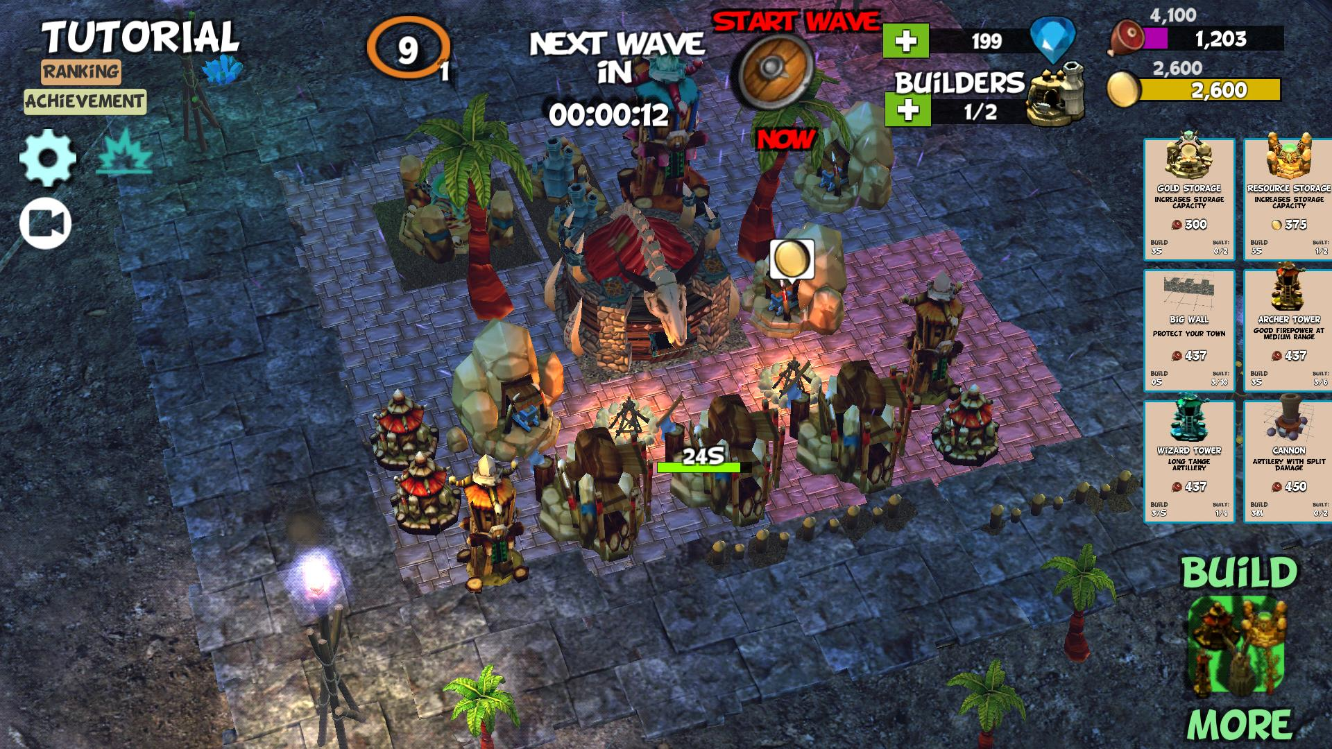 Anti Clash ⛺️ Tower Defense Offline Orc Clans War for