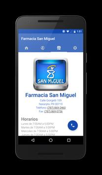 Farmacia San Miguel apk screenshot