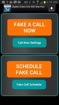 Fake-A-Call Free poster