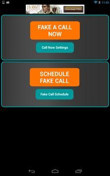 Fake-A-Call Free screenshot 12