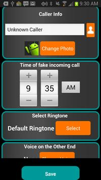 Fake-A-Call Free screenshot 2