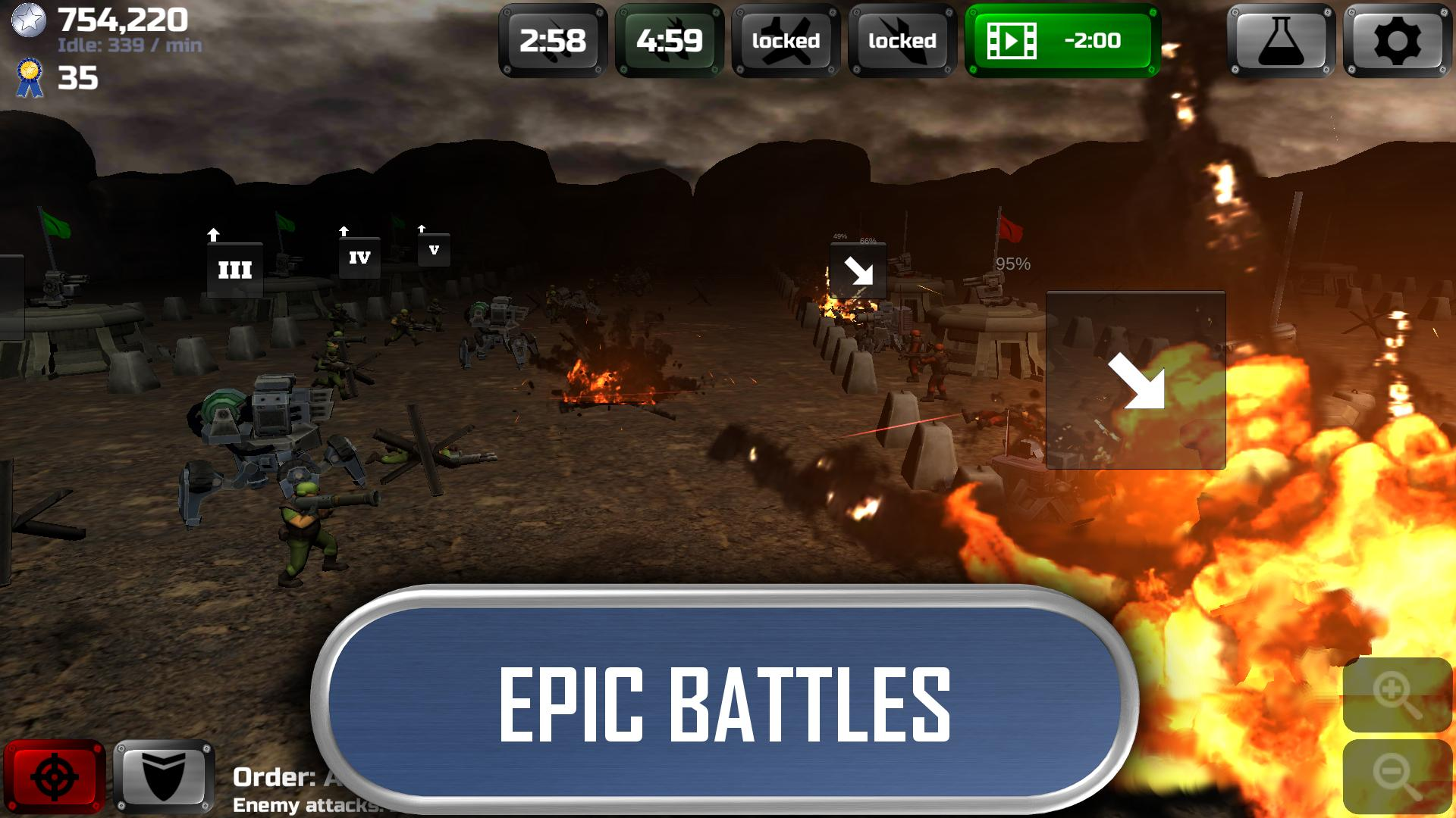 Idle War Commander for Android - APK Download