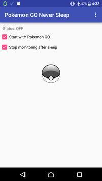 Pokemon GO Never Sleep poster